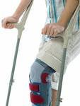 guy on crutches