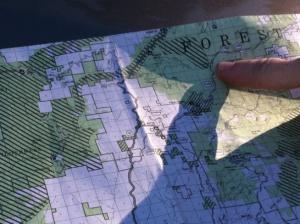 XMAS USFS map