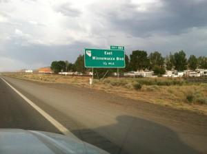 East Winnemucca sign