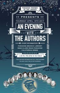 Author Night Paradise Library