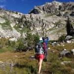 hike up mountain