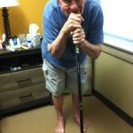 hockey stick cane