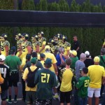 Oregon Duck Football Players